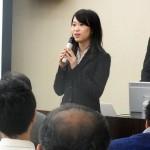 会報誌編集委員の東さん(62回生)による会報誌発行の報告