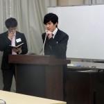 長谷川さん(63回生)、高山さん(63回生)による モデルディベート