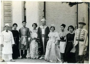 六甲台の大学祭で英語劇