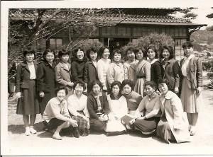 ますや旅館にて女性集合
