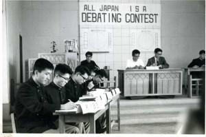 ISA Debate 全国大会。 決勝で大阪外大に敗れる