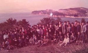 小豆島にて(14回生)