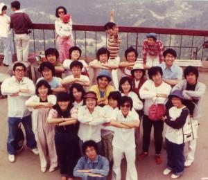 四国合宿への船上にて(29回生)